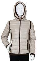 Куртка женская демисезонная Covily 817 бежевый, фото 1