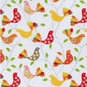 Ткань для штор,птички, прованс