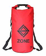 Рюкзак водонепроницаемый Zone Red 20L