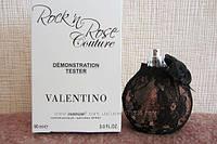 Valentino Rock'n Rose Couture тестер без крышечки. духи валентино черные. духи валентино.