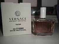 Versace Bright Crystal  тестер. версаче духи женские розовые. версаче духи
