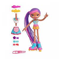 Кукла-конструктор Betty Spaghetti Люсси Официантка и Роллер, 17 см