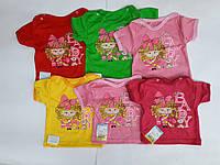 """Детская футболка """"Милашка"""" для девочек"""