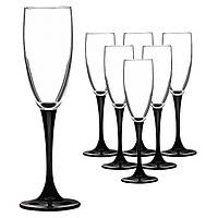 Набор бокалов для шампанского Domino 6х170 мл