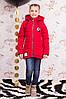 Детская курточка с отстегивающимися рукавами