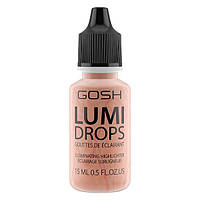 Gosh Хайлайтер Lumi Drops Peach 004 peach 15 ml.