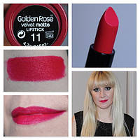 Губная помада Golden Rose Velvet Matte Lipstick 11