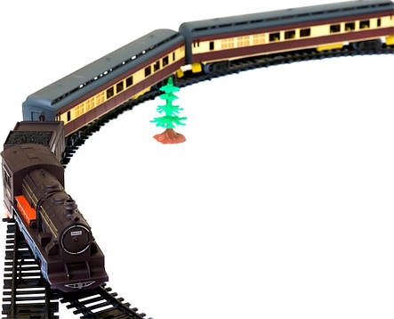 Железная дорога «Fenfa» (1601A-3B) пассажирский паровоз, фото 2