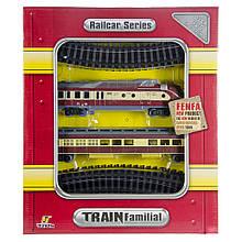 Железная дорога «Fenfa» (1601B-5B) паровоз с вагоном