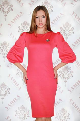 Элегантное красивое платье из французского трикотажа, фото 2