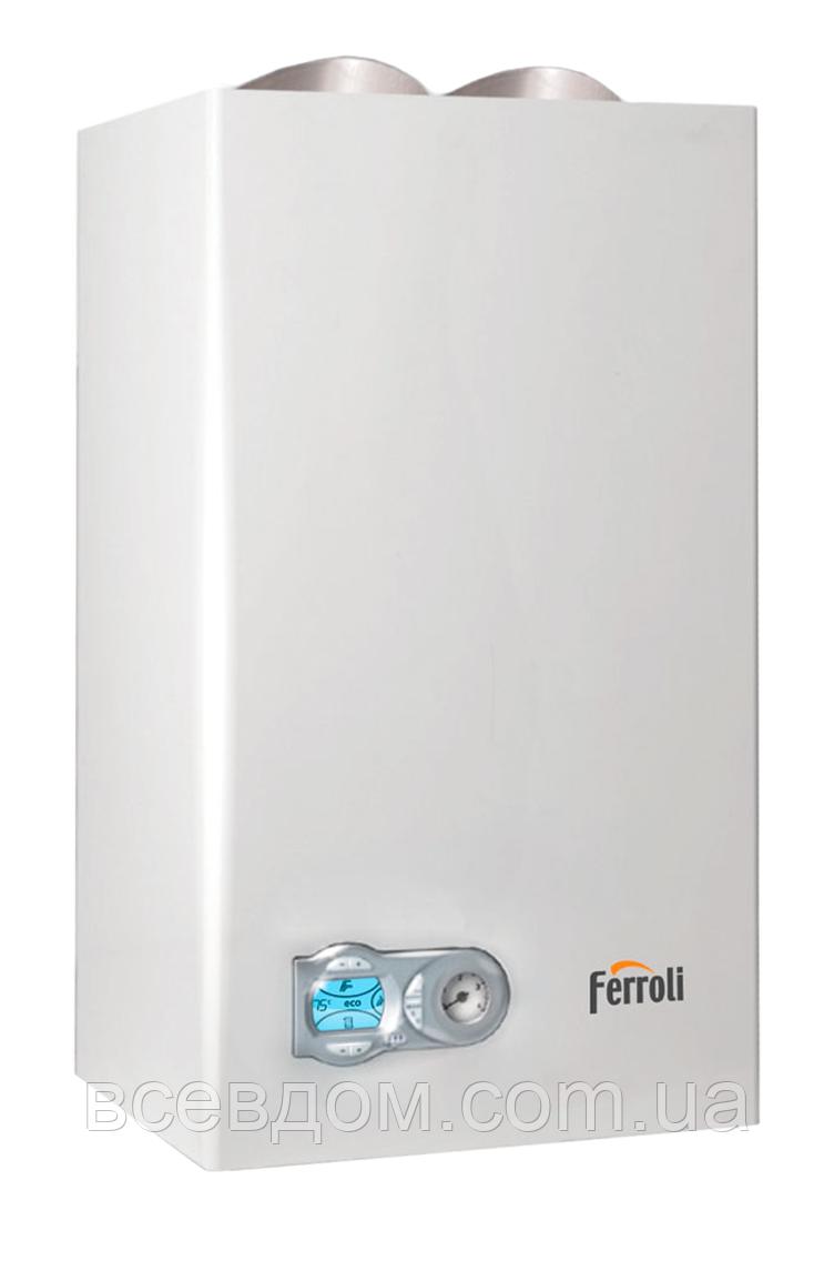 Котел газовый Ferroli Domiproject F 32 D + труба в комплекте