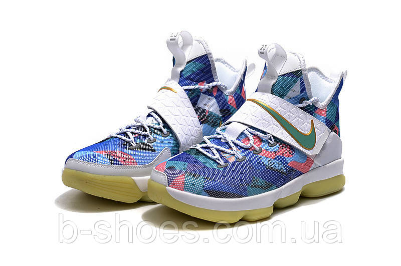 Детские баскетбольные кроссовки Nike LeBron 14 (Rio) купить в Киеве ... 798d7c1d580