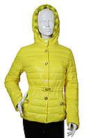 Куртка женская демисезонная Covily 857 желтый, фото 1