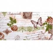 Ткань для штор в кухню цветы, прованс ,бабочки