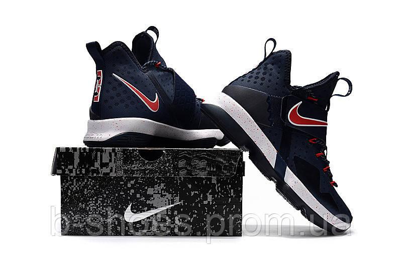 ad96269c Детские баскетбольные кроссовки Nike LeBron 14 (Navy/Red-White), ...