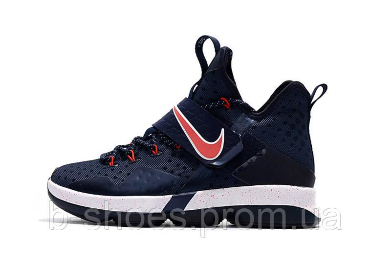 ... Детские баскетбольные кроссовки Nike LeBron 14 (Navy Red-White), фото 6 d66f0afbea1