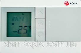 Программатор(термостат) проводной недельный для  котлов Roda А3263