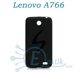 Чехол силиконовый для Lenovo A766 Черный