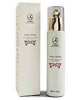 Увлажняющий крем  Pearl Line cream для всех типов кожи с экстрактом жемчуга Ламбре / Lambre 50 мл
