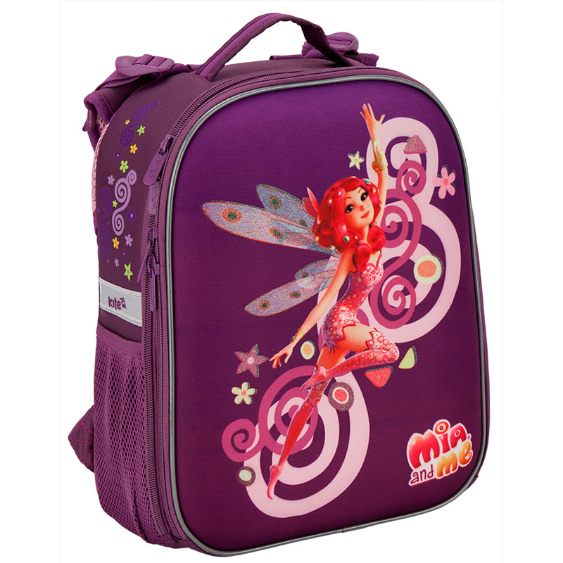 a1e00039fd3b Рюкзак школьный каркасный Kite 531 Mia and Me для девочек MM16-531S -  Интернет-
