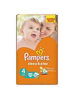 Подгузники Pampers Sleep & Play 4 (7-14 кг) 68 шт.