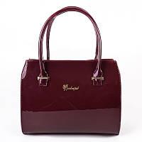 Женская лаковая сумка М50-59