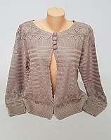 Модная женская кофта-болеро в расцветках