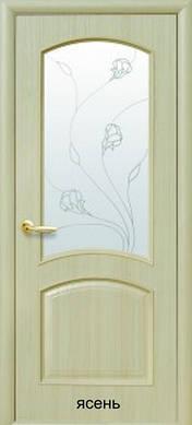 """Двери Антре с рисунком Р2 пленка пвх """"De Luxe"""""""