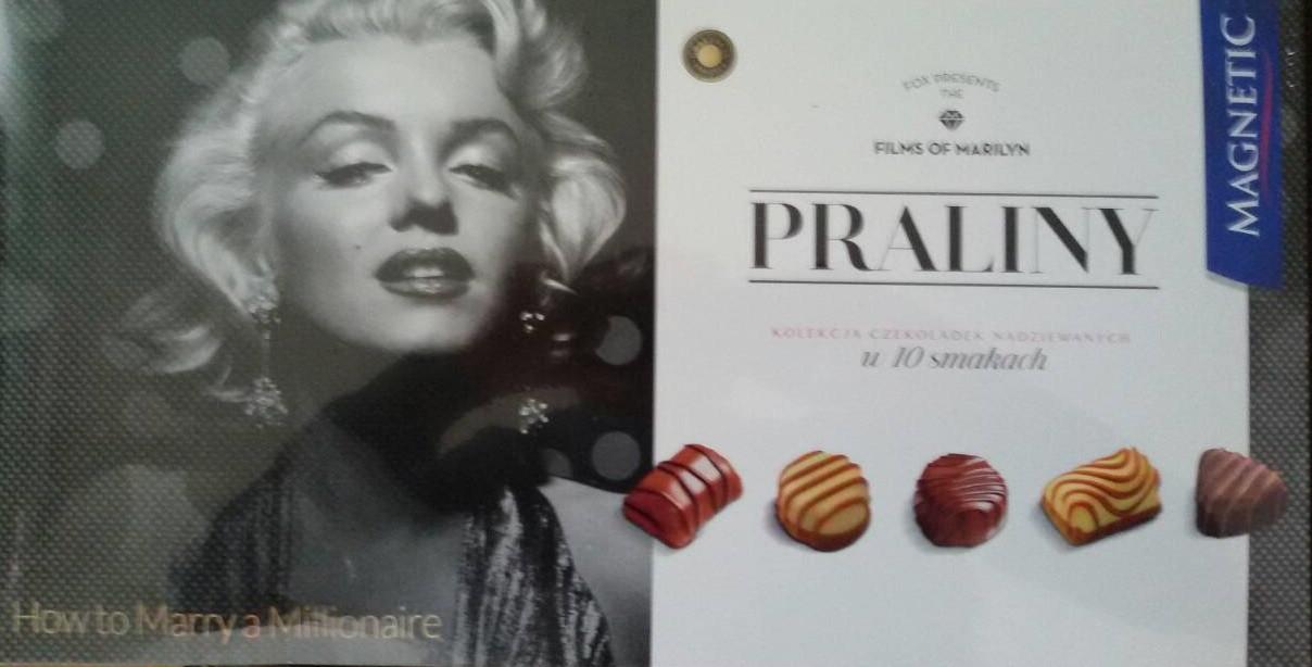 Шоколадные конфеты Magnetic Магнетик Пралине (Германия)