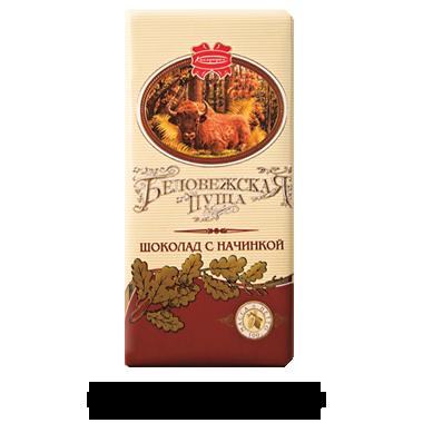 Элитный шоколад Беловежская пуща 100г(Беларусь), фото 2