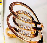 Золотое кольцо женское.