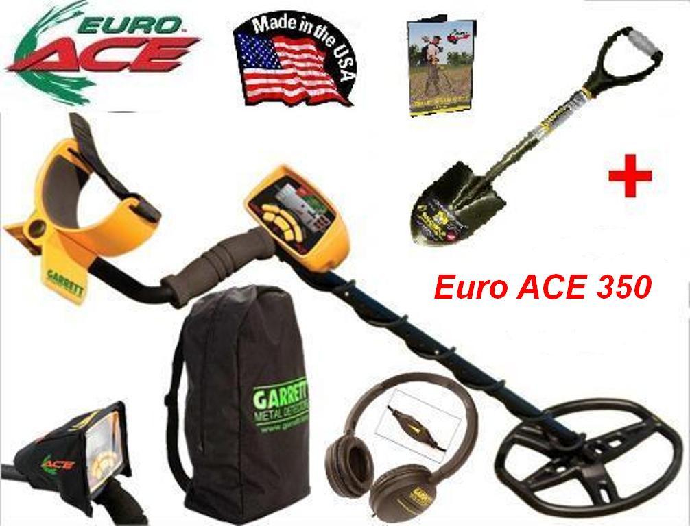 Металошукач Garrett Euro ACE 350 - повний комплект