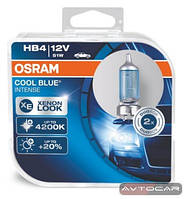 Osram Cool Blue Intense, HB4, комплект 2шт., 9006CBI