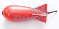 Ракета для прикормки Spomb китай (малая) Red