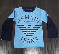 "Кофта для мальчика ""АРМАНИ"" 4,5,6,7,8 лет"