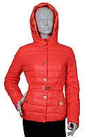 Куртка женская демисезонная Covily 857 коралл