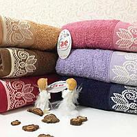 Полотенце махровое для лица 50 х 90 см, Cotton Area, Турция (6шт/1уп)
