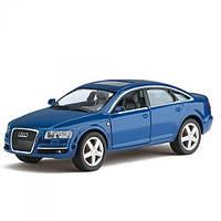 Модель автомобиля Audi A6 в масштабе 1 : 36 (Kinsmart KT5303W)