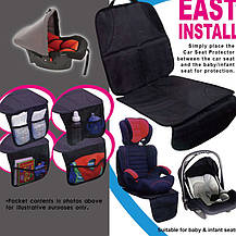 Защита сидения автомобиля с органайзером East Install NY-05, фото 2