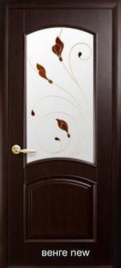 """Двери Антре с рисунком Р4 пленка пвх """"De Luxe"""""""