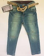 Детские джинсы, для девочек 1-5
