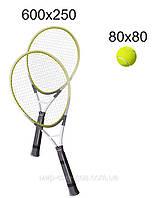 Декоративный Стенд для спортзала Теннис Серый