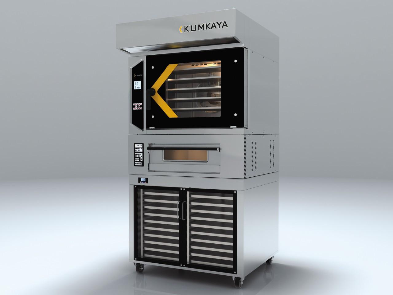 Конвекционная печь LIDYA 6 PЕ Kumkaya