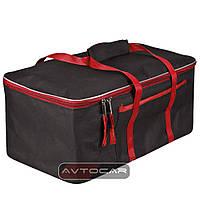 Cумка-органайзер в багажник цвет: черный с красным размер: 480х300х200мм, фото 1