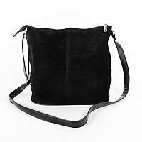 Женская замшевая сумка через плечо М78-замш/47