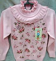 Детская нарядная трикотажная кофта Арина для девочек 2-5 лет S987