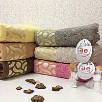 Полотенце махровое для лица 50х90 см, Cotton Area, Турция (6шт/1уп)