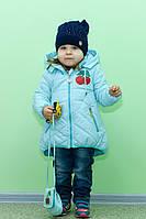 Куртка (парка) на девочку +сумочка в подарок 1 год