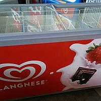 Морозильные камеры -лари бу 500 литрв АhT
