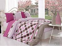 Altinbasak ранфорс 160х220 (Нав. 70Х70) Marbella розовый